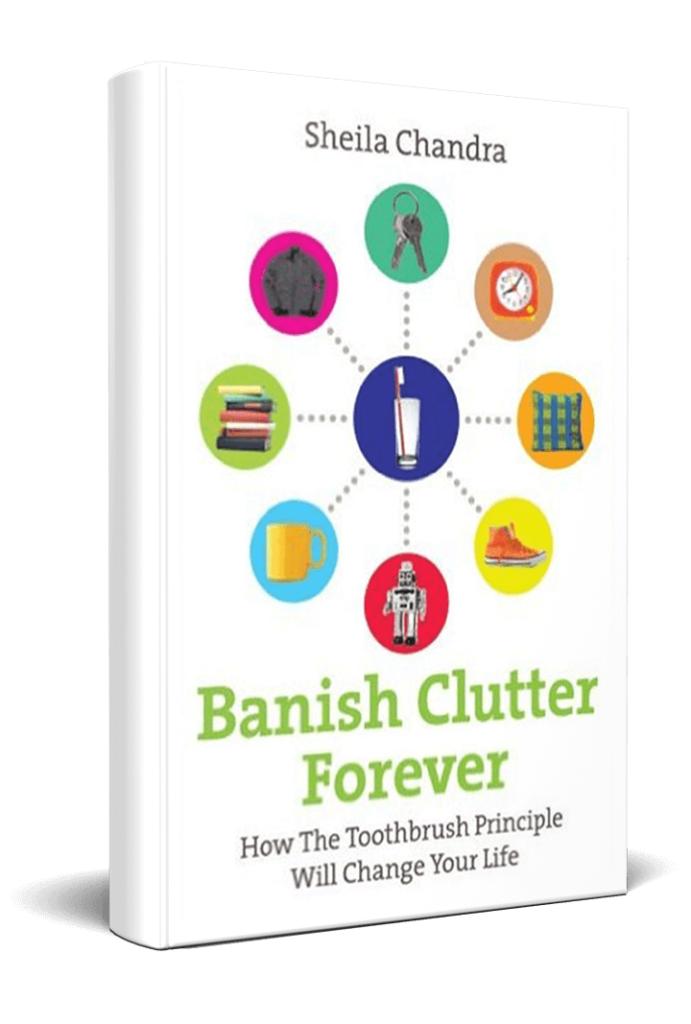 Sheila Chandra - Banish Clutter Forever Book Cover